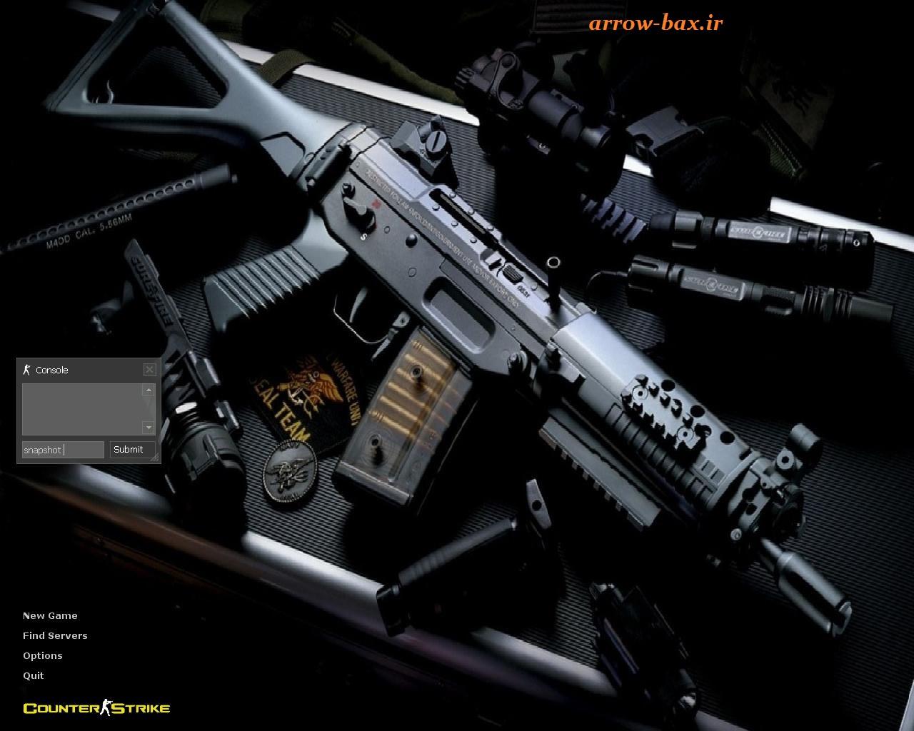 دانلود کانتر استرایک ۱٫۶ جدید (Real Battle)